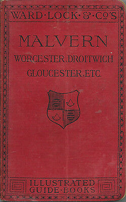 VERY EARLY WARD LOCK RED GUIDE - MALVERN - 1906/07 - New (1st) edition - RARE