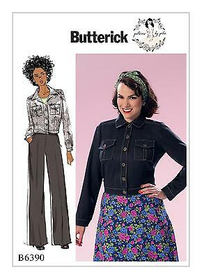 Butterick SEWING PATTERN B6390 To Make Misses Jacket 6-14 Or 14-22