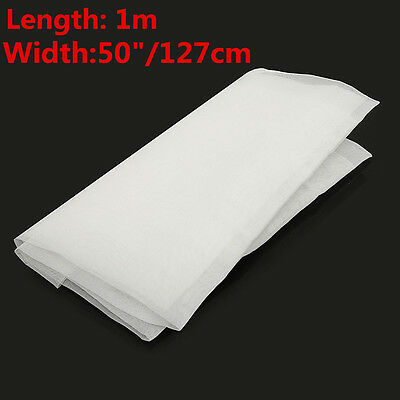 1 Yards 24T 60M White Polyester Silk Screen Printing Mesh Width 50''/127CM