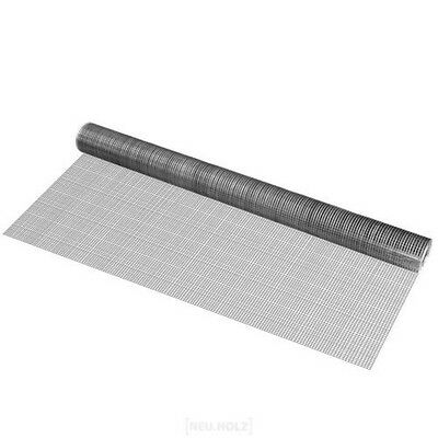 Wire Mesh Square Galvanised 1Mx5M Welded Wire Grid AVIARY MESH WIRE FENCE