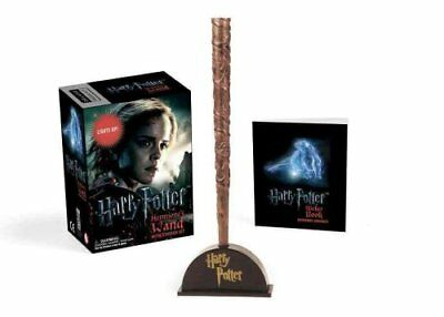 Harry Potter Hermione's Wand with Sticker Kit Lights Up! 9780762459322