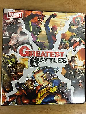 Marvel Greatest Battles Official Rittenhouse Binder
