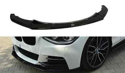 BMW 1er F20 M Performance bis 2015 Cup Spoilerlippe Front Diffusor ABS struktur
