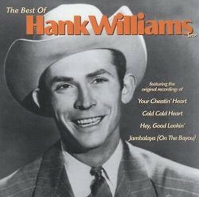 Hank Williams Snr - The Best Of (NEW CD)