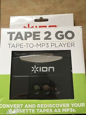 Ion Audio Tape 2 GO   Portable Analog to MP3 Digital Cassette Converter / Player