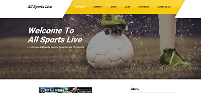Live Football/soccer Live Score/results Website