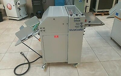 Graphic Whizard model XDC 530 UV COATER  New and demo unit avail.