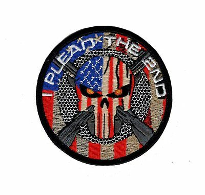 Plead 2nd Amendment Right to Keep and Bear Arms Morale Hook Patch