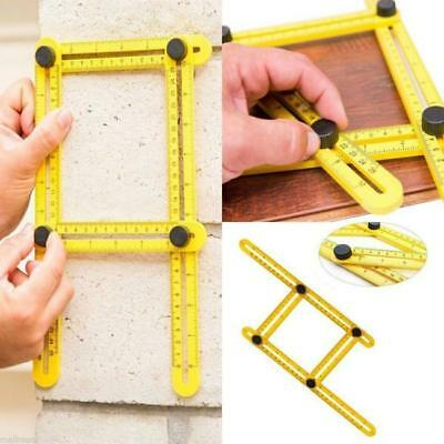 Multi-Angle Ruler Great To Your tool Template,Tile & Flooring Measuring NEW -S