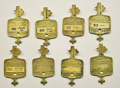 "8 x Vintage CORGI ROCKETS - ""Golden Tune-Up"" Keys"