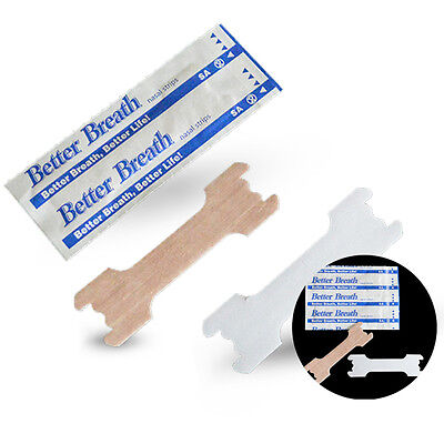 50X Breathe Right Better Nasal Strips Adult Stop Snoring Health Care Strip Noble
