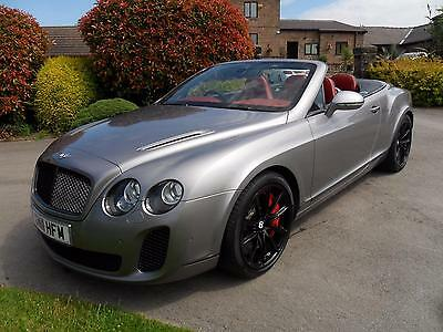 2011/11  BENTLEY CONTINENTAL 6.0 GTC SUPERSPORTS 2dr CERAMIC BRAKES