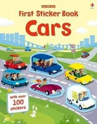 First Sticker Book Cars by Simon Tudhope 9781409582434 (Paperback, 2014)