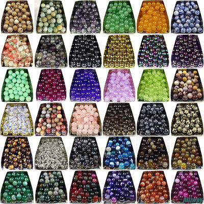 Series I lot natural gemstone spacer loose beads 4mm 6mm 8mm 10mm round stone AA