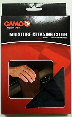 MOISTURE CLEANING CLOTH GAMO PANNO pulizia carabina pistola Calibro 4,5 mm CO2