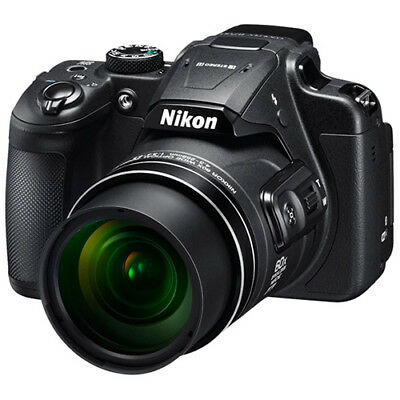 Nikon COOLPIX B700 20.2 MP 60x Opt Zoom Telephoto NIKKOR Digital Camera Black