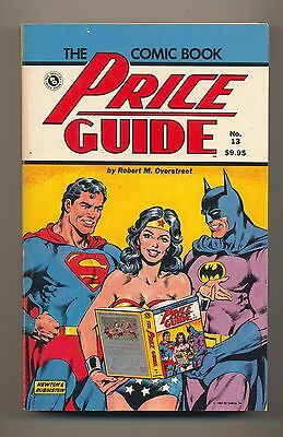 Overstreet Comic Book Price Guide #13 1983 Softcover 13Th Edition Used