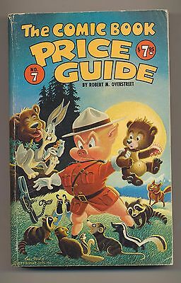 Overstreet Comic Book Price Guide #7 1977 Softcover 7Th Edition Used