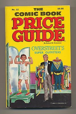 Overstreet Comic Book Price Guide #12 1982 Softcover 12Th Edition Used