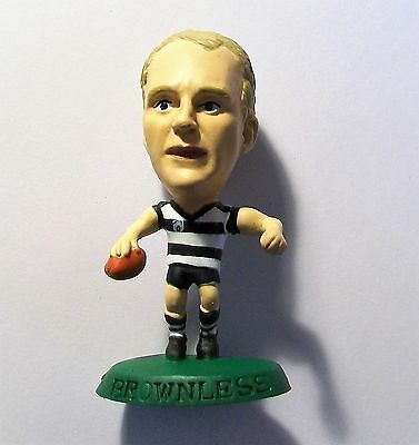 CORINTHIAN AUSSIE RULES Figure GEELONG CATS, BROWNLESS AFL40 Loose No Card