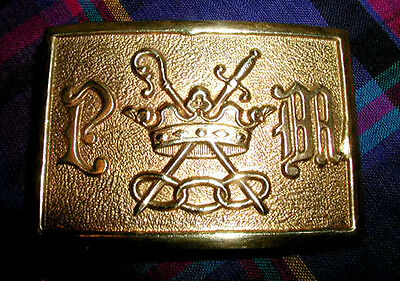 GLOWING GOLDEN Antique ODD FELLOWS Symbolic BELT BUCKLE Rare Patriarchs Militant