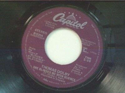 Thomas Dolby She Blinded Me With Science Flying North 45 1982