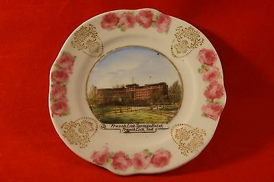 "Vintage French Lick Springs Hotel Saucer French Lick Indiana 5"" Diameter"