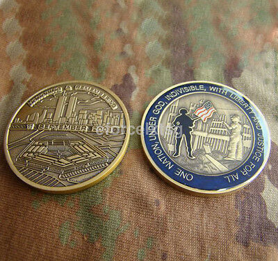 New Honoring Remembering 11 September Commemorative Challenge Coin Home Decor US