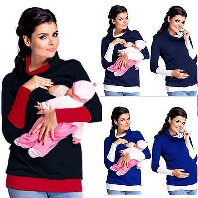 Maternity Clothes Breastfeeding Tops Nursing Maternity Top Women T-shirt
