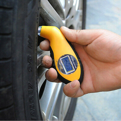 Tire Pressure Guage Digital Car Truck Air PSI KPA Meter Tester Tyre Gage