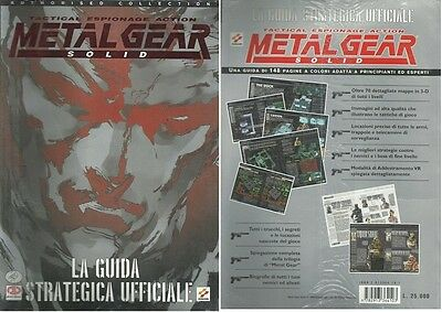 La Guida Strategica Ufficiale - Metal Gear Solid - In Italiano