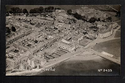 Beaumaris from the Air - real photographic postcard