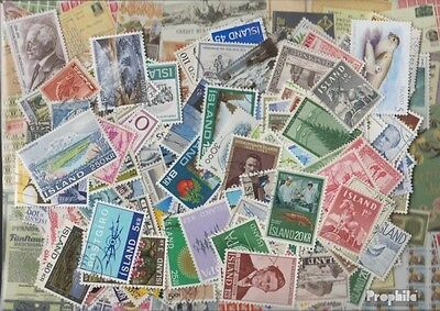 Iceland 200 different stamps