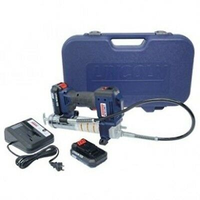 Lincoln 1882 20 Volt Cordless Grease Gun with 1 Lithium Ion Battery