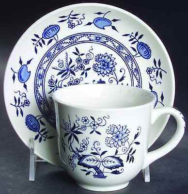 Wood & Sons BLUE ONION Cup & Saucer 773151