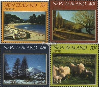 New Zealand 845-848 (complete issue) unmounted mint / never hinged 1982 Landscap