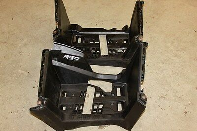 2016 Can Am Outlander 850 4x4 XMR Left Right Plastic Heel Foot Guards Floorboard