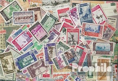 Morocco 50 different stamps  Spanisch Morocco