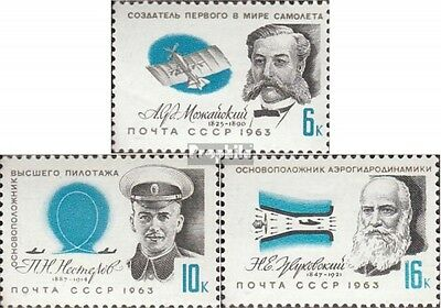 Soviet-Union 2794-2796 (complete issue) unmounted mint / never hinged 1963 Pione