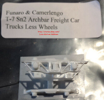 LMH Funaro F&C T-7 T7 Sn2 ARCH BAR TRUCKS Sandy River Rangeley SR&RL SRRL 1-Pair
