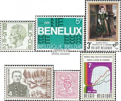 Belgium 1769,1775,1776,1778, 1780,1783 mint never hinged mnh 1974 special stamps