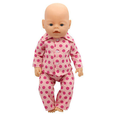1set Doll Clothes Wear For 43cm Baby Born zapf (only sell clothes ) MG-025