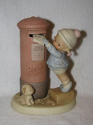 """Attwell Memories Of Yesterday """"This Ones For You, Dear"""" Bisque Figurine"""