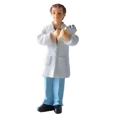Poly resin Dolls house figure  Dr.Arnold