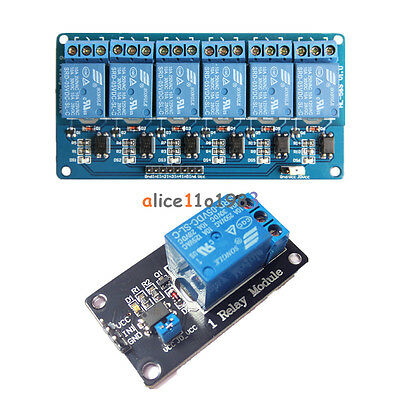 5V 1/6 Channel Relay Board Module Optocoupler LED for Arduino PiC ARM AVRC