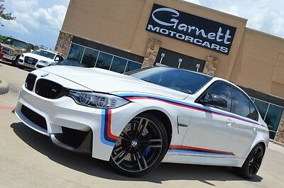 2015 Bmw M3  2015 Bmw M3 Sedan * Loaded W Options * Manual Trans * Right Car Right Colors!