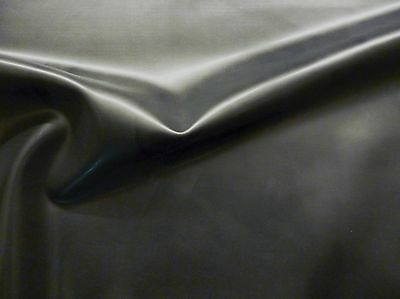 Latex Rubber Sheet, .45mm Thick, 2m x 2.5m, 78 x 97 inches,Black, Slight Seconds