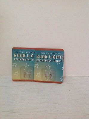 Nite Reader Book Light Replacement Bulbs 2 Packages Of 2 New In Package