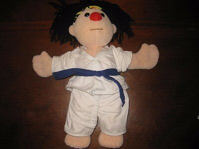 """Big Comfy Couch Molly Doll In Karate Outfit 16"""" Plush"""
