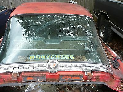 1964 -1965 - 1966 Plymouth Barracuda Fastback Rear Window other parts ask